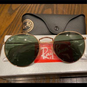 New RayBan RB3447 Gold G-15